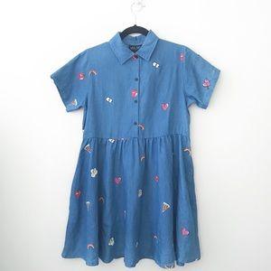 Lazy Oaf Old School Emblem Dress